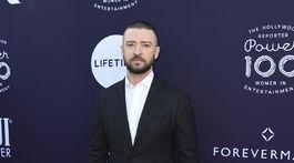 Spevák a herec Justin Timberlake.