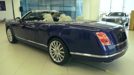 Bentley Grand Convertible: Otvorený Mulsanne je realitou. Ale len v Dubaji