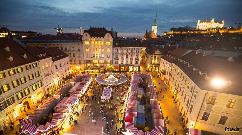 bratislava, trhy, vianoce