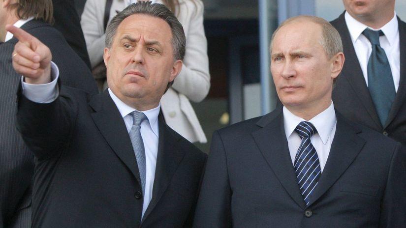 Vitalij Mutko, Vladimir Putin