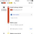 Google, Mapy Google, navigácia