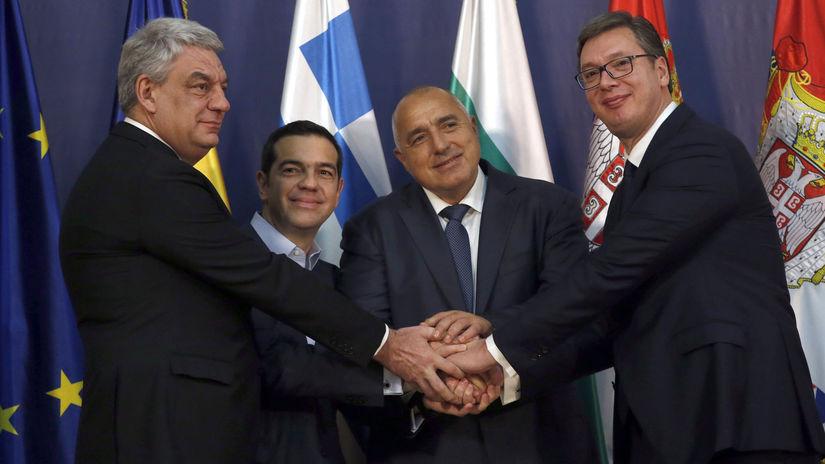 tsipras, vucic, borisov, tudos