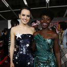 Herečky Daisy Ridley (vľavo) a Lupita Nyong'o.