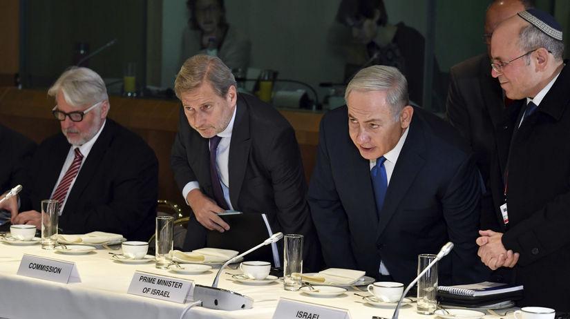 Benjamin Netanjahu EÚ