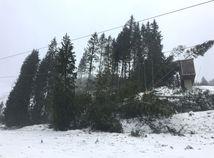 Na Chopku fúkal orkán, vietor potrápi Slovensko aj v utorok
