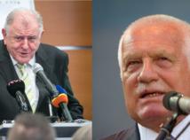 Klaus označil rozdelenie federácie za 'soft', Mečiar: Nechceli sme ostať na 'prsníku' ČR