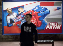 Putin Rusko výstava
