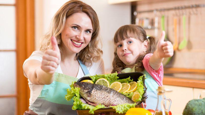 ryby, zdravá výživa