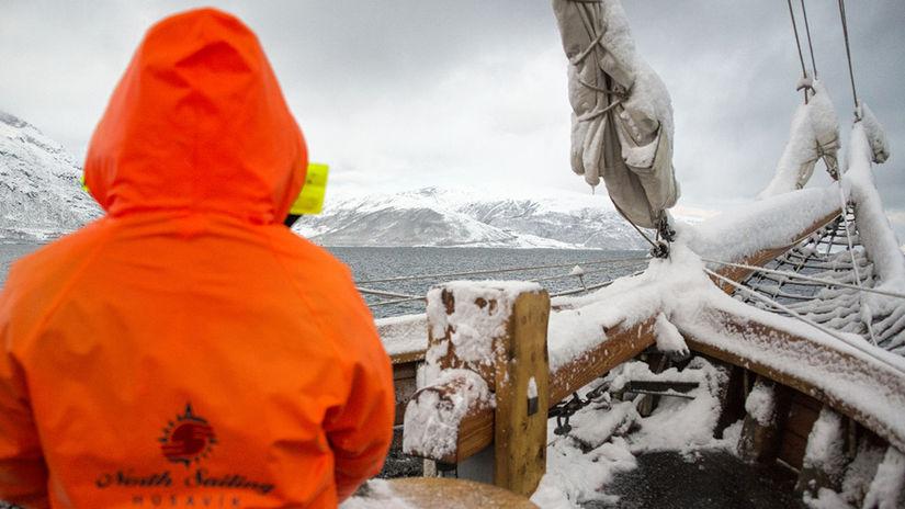 Tromso, Nórsko, loď