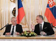 Zeman vyčítal Kiskovi, že Bratislava stále nemá Český dom