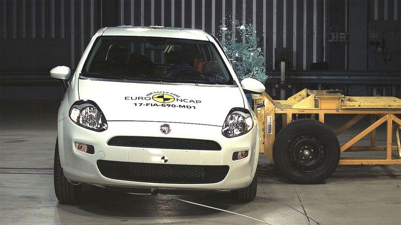 Euro NCAP -  Fiat Punto