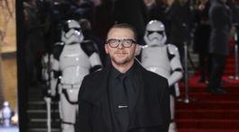 Herec Simon Pegg.