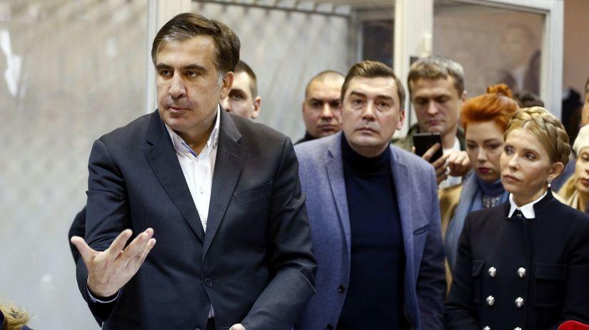 Ukraine Saakashvili