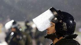belehrad polícia