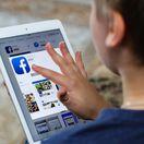 facebook, socialna siet, dieta, tablet
