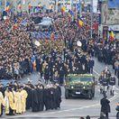 APTOPIX Romania King's Funeral