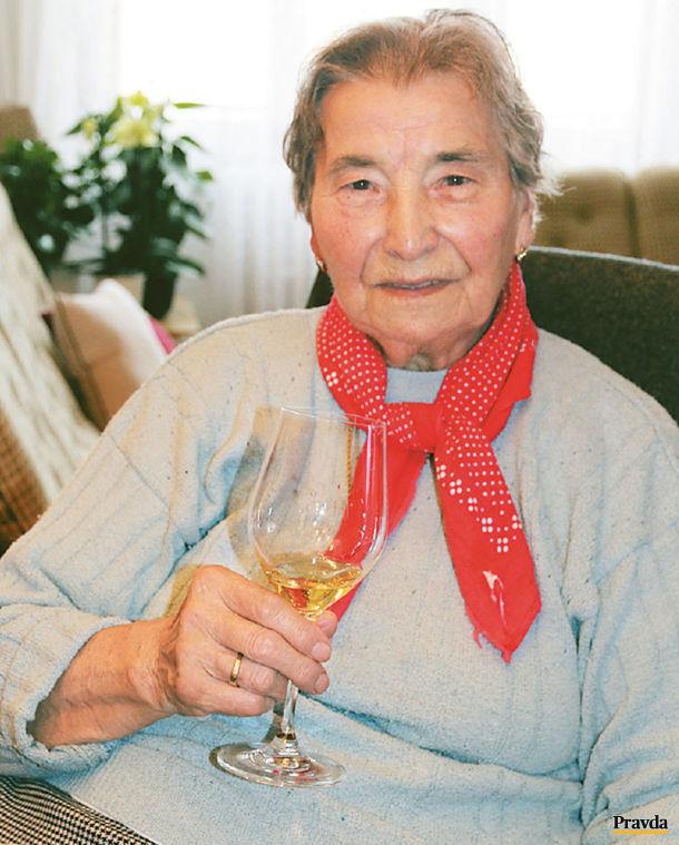 Babička Margita Zárubová.