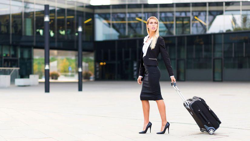žena, kariéra, cestovanie