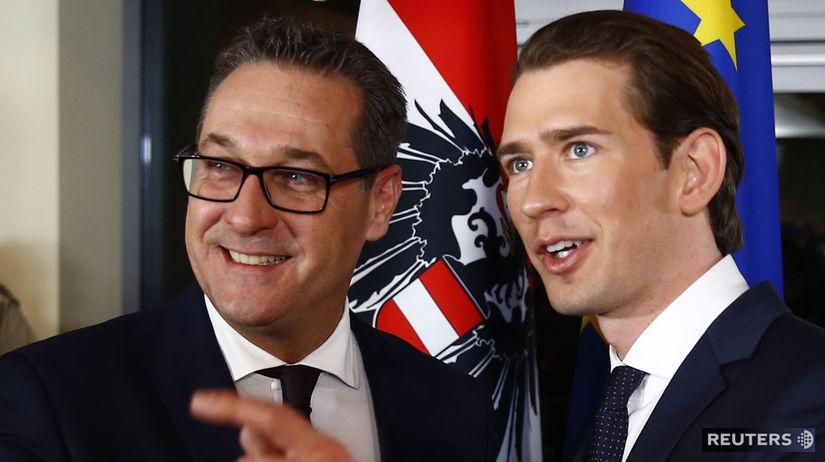 Sebastian Kurz, Heinz–Christian Strache