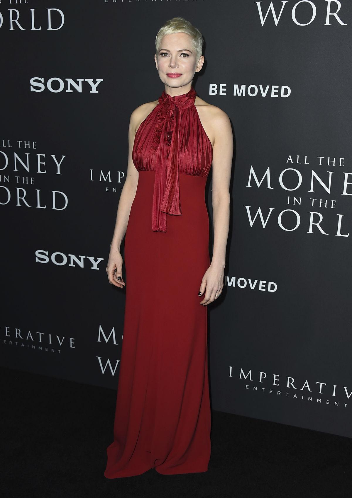 Herečka Michelle Williams v šatách z dielne...