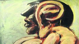 Ušatka II, 1988, olej, 182 x 122 cm