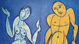 Yellow Boy, 2009, olej, 200 x 170 cm
