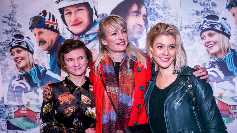 Anita Krausová, Anna Polívková a Kateřina Klausová