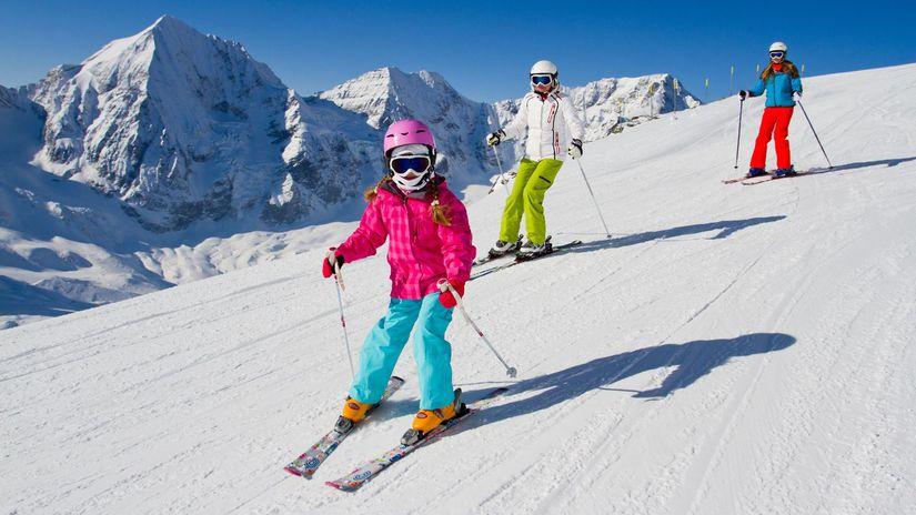lyžovanie, lyže, lyžovačka, lyžiari, svah,...