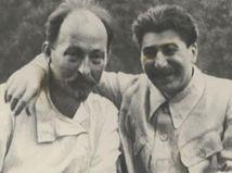 Dzerzinskij so Stalinom. Zdroj - Wikipedia