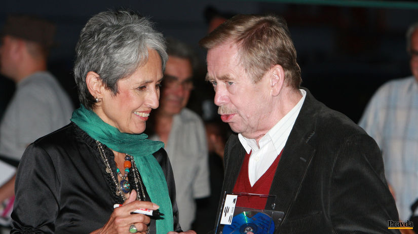 Joan Baez,Vaclav Havel