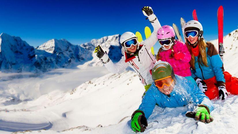 lyžovačka, lyžiarske stredisko, lyže, zima,...