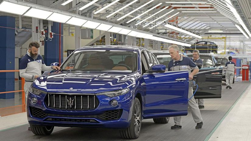 Maserati Levante zavod La Stampa.it
