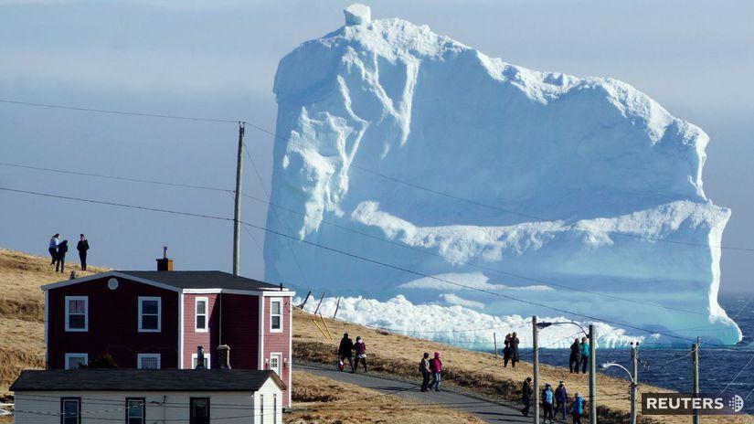 ľadovec, Kanada, Newfoundland