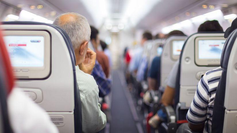 cestovanie, let, lietadlo