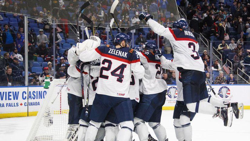 hokej MS 20 Slováci