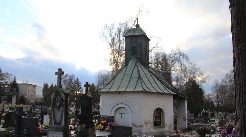 kaplnka, Starý cintorín v Žiline