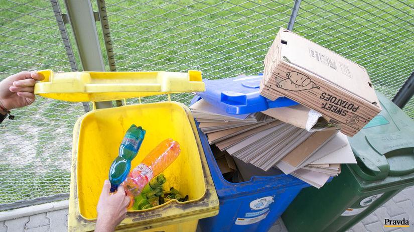 kontajner, separovaný odpad, olo