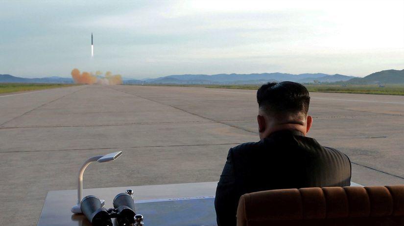 Severná Kórea, raketa, Kim