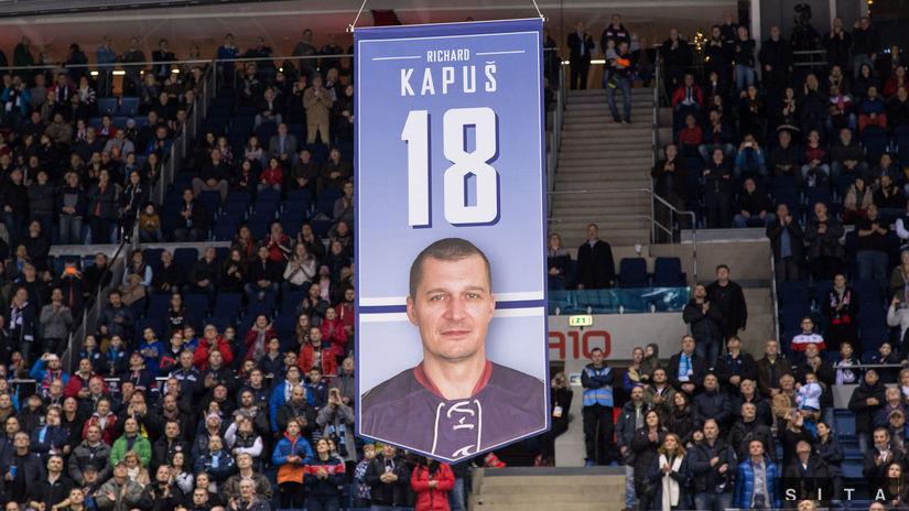 Richard Kapuš, zástava
