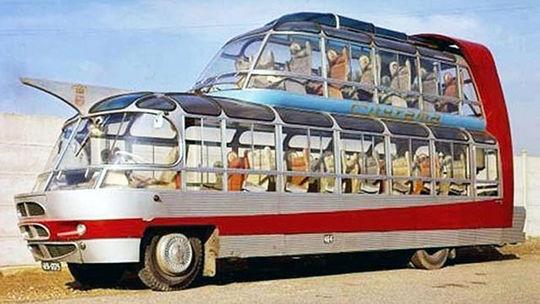 Citroën U55 Currus Cityrama: Parížske 'UFO' ohromilo svet