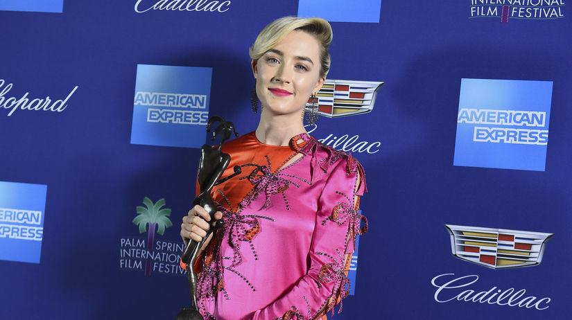 Herečka Saoirse Ronan získala cenu za herecký...