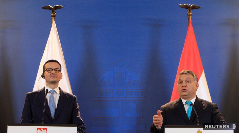 Mateusz Morawiecki, Viktor Orbán