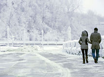 mraz, niagarske vodopady