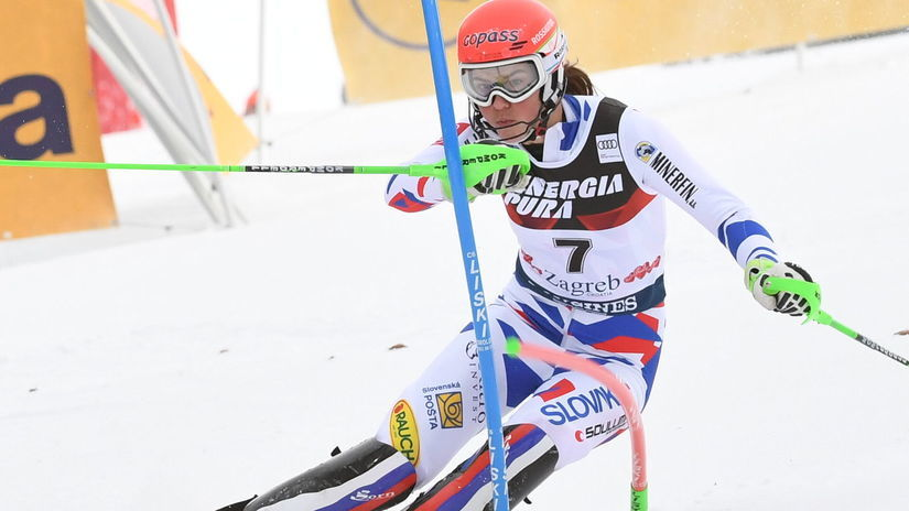 Petra Vlhová, slalom