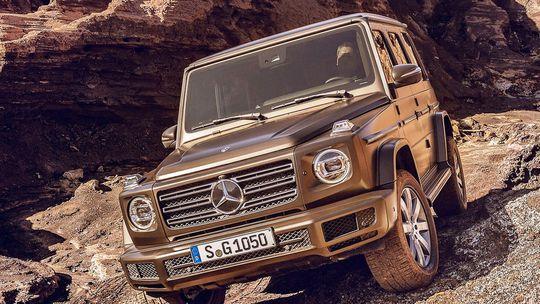 Mercedes-Benz G: Nová generácia odhalená pred premiérou
