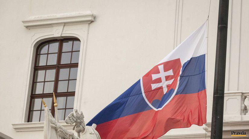 Slovensko, vlajka