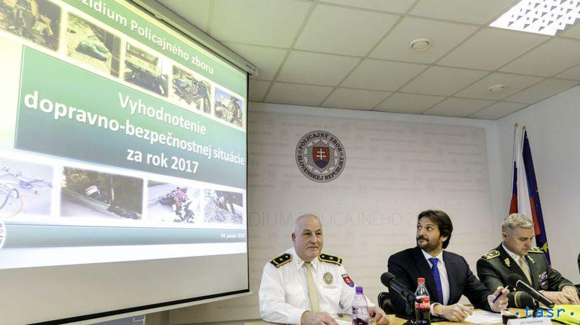 SR PZ dopravno-bezpečnostná situácia 2017...