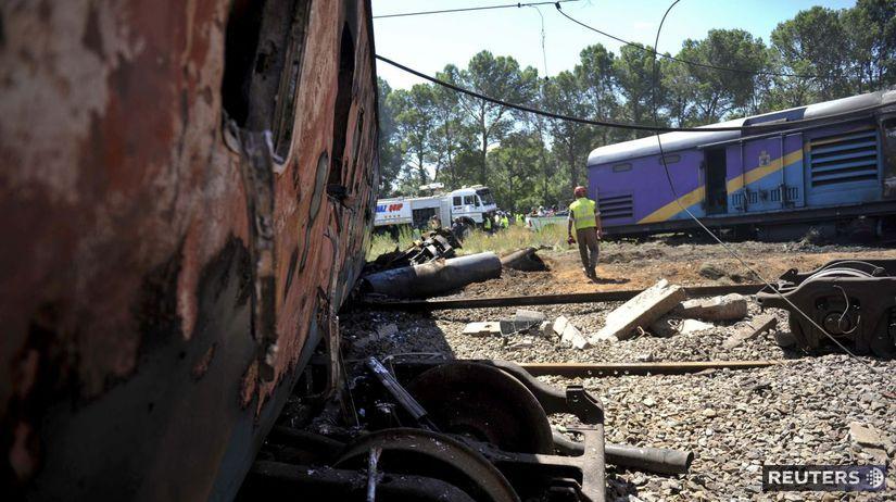 vlak, nehoda, JAR