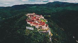 Hrad Rasnov, Transylvánia, Rumunsko
