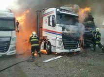 hasiči, požiar